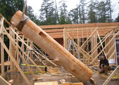Ayre Residence_Raising Pillar