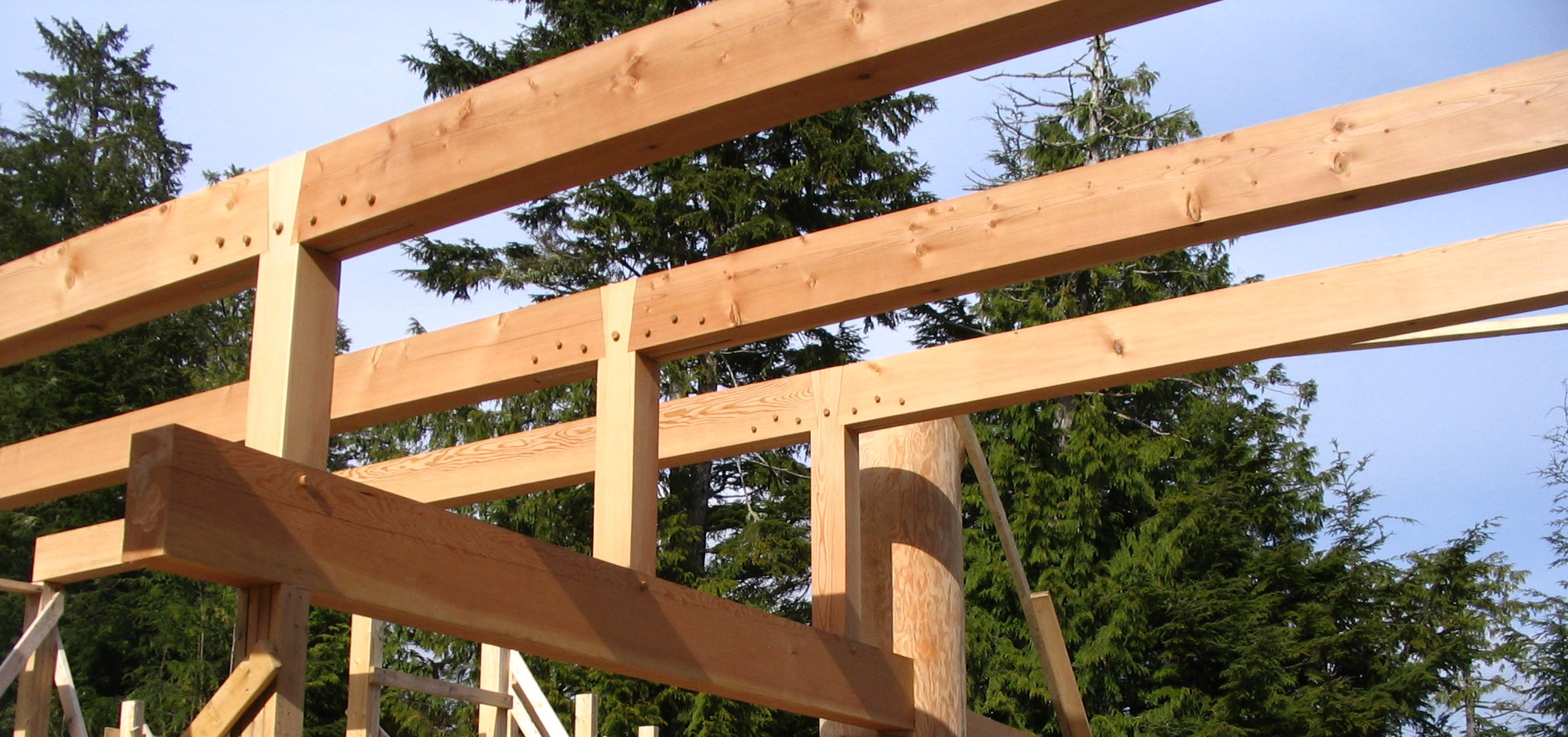 Timber Framed Building : Timber frame construction tidewater frames