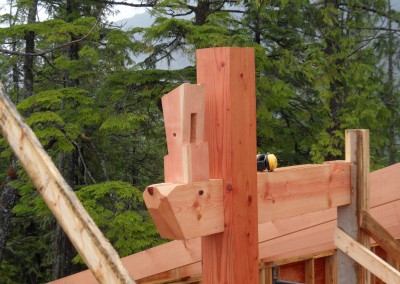 Off Grid Forest Home_Framing Detail