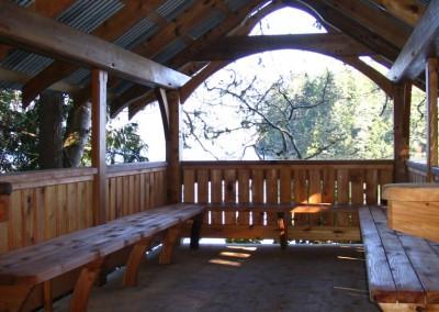Tofino Botanical Gardens_Bench Seats
