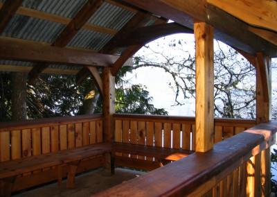 Tofino Botanical Gardens_Group Seating Area