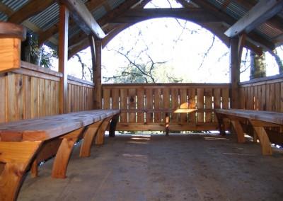 Tofino Botanical Gardens_Seat Legs